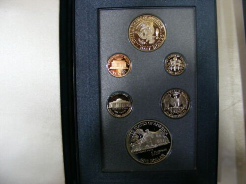 Prestige Set 6 Proof Coins Including U.S Eisenhower Centennial Coin P 1990 U.S