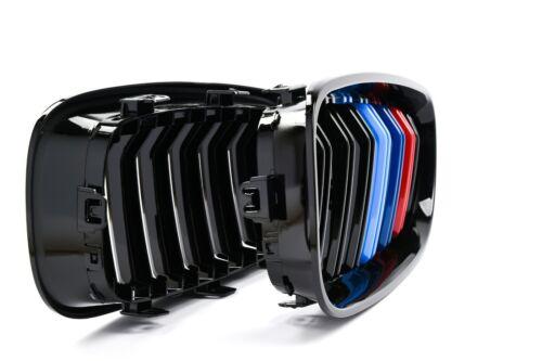 M4 Grille M Power 3 Tri couleur Double barre noir BMW 3 Série GT Gran Turismo F34
