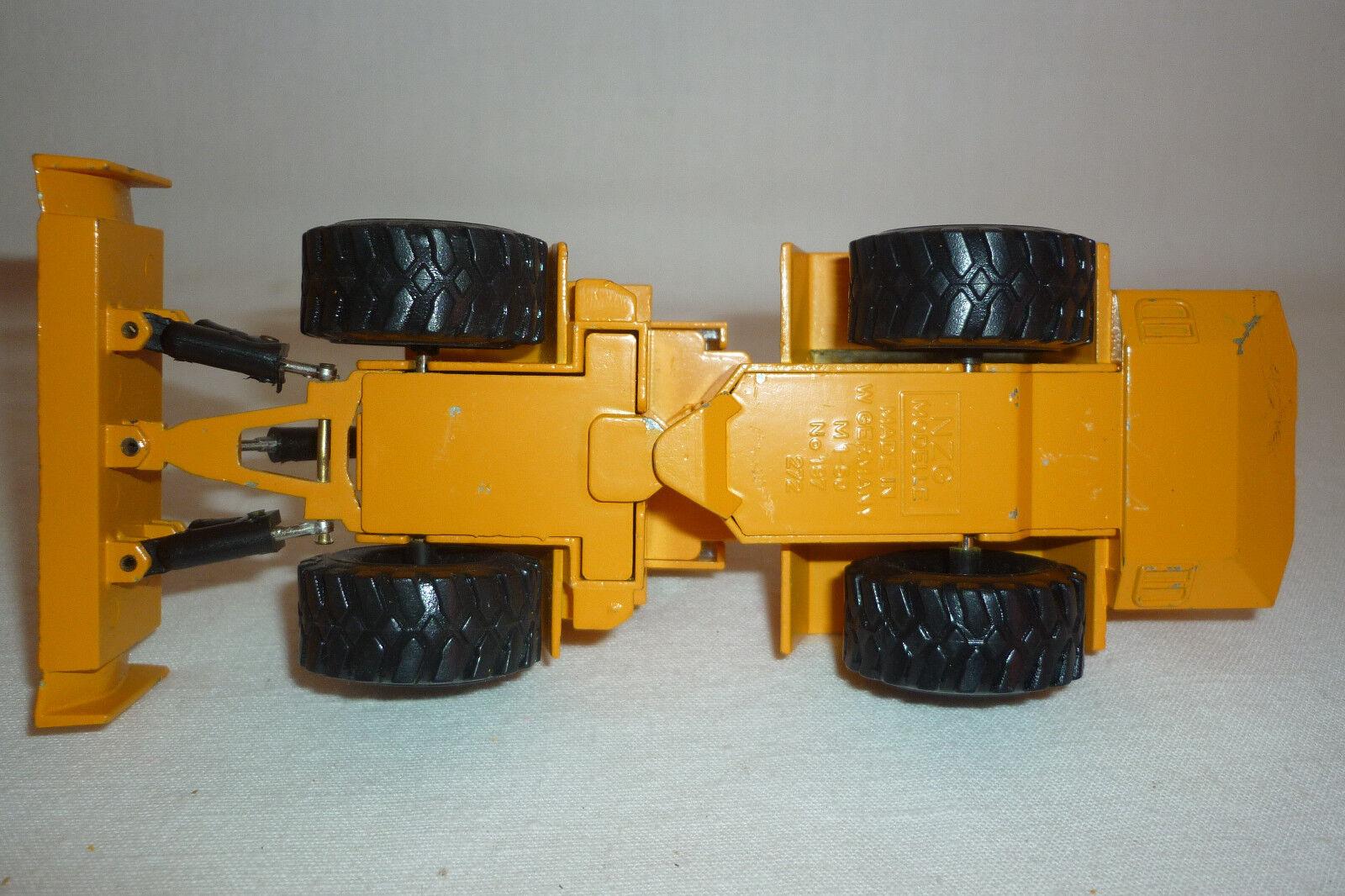 NZG-metal modelo-Zettelmeyer ZD ZD ZD 3000-schwenklader - 1 50 (7.bm-90) 7ac308