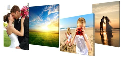 """16/""""x20/"""" Canvas Photo Print personalised Framed Ready to Hang rectangle shape"""