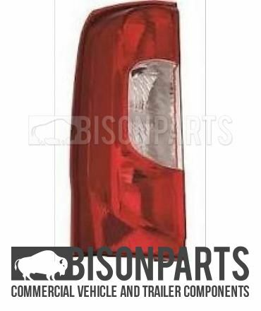 FIAT QUBO 2008 /> REAR LAMP TO SUIT REAR TAILGATE DOOR PASSENGERS SIDELH