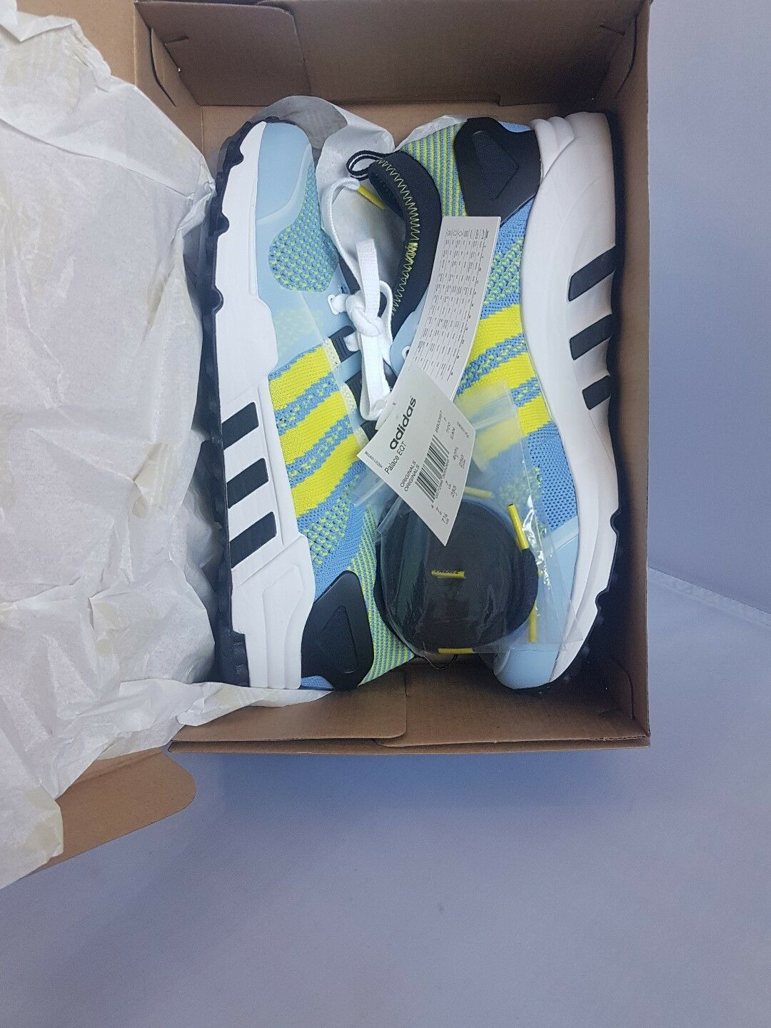 Palace x Adidas EQT   UK 7 Sold US 7.5 Sold 7 Out At Retailers 7d00b0
