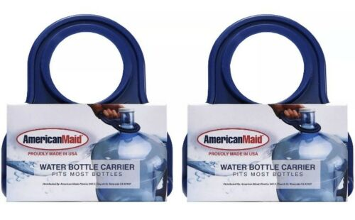 Fits Most Bottles Water Bottle Carrier 2 Pack AmericanMaid BPA Free