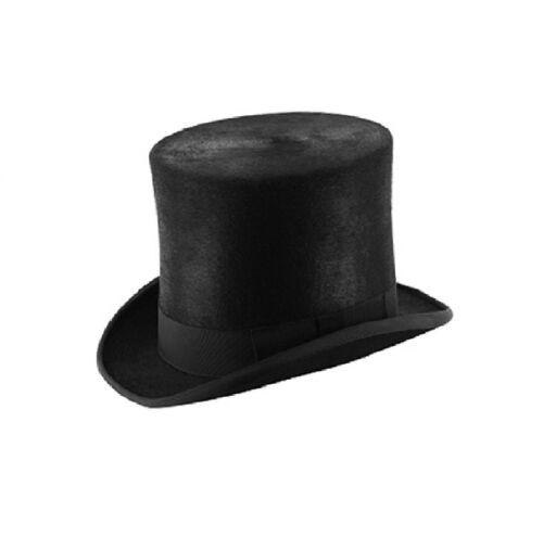 Melusine Black Taller Top Hat Topper//Ascot//Wedding
