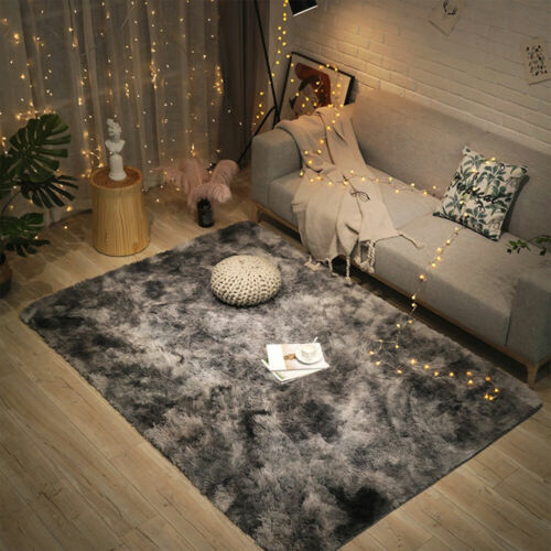 Shaggy Rugs Floor Carpet Living Room Bedroom Large Fluffy Area Rugs Home Decor