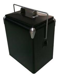 Retro-Cooler-Picnic-17L-Matte-Black