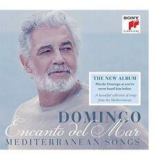 Encanto del Mar: Mediterranean Songs - Plácido Domingo - Sony Classical - sealed