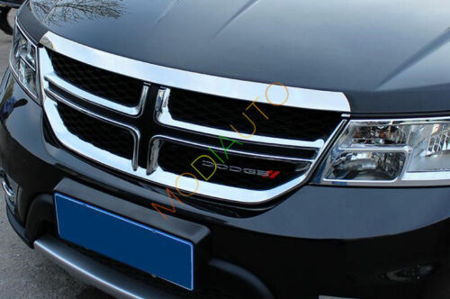 For Dodge Journey 2013-2017 Stainless steel Front Hood Cover Trim