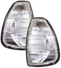 MERCEDES 200-300 W123 76-85 E CLASS FRONT INDICATORS - CLEAR