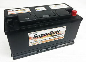 Details About Superbatt Xc019 Heavy Duty Calcium Silver Car Battery Type 019 12v 100ah 850a