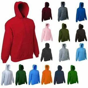 Mens-Plain-Classic-Hooded-Sweatshirt-Size-XS-to-4XL-SPORTS-amp-CASUAL-HOODIE-502
