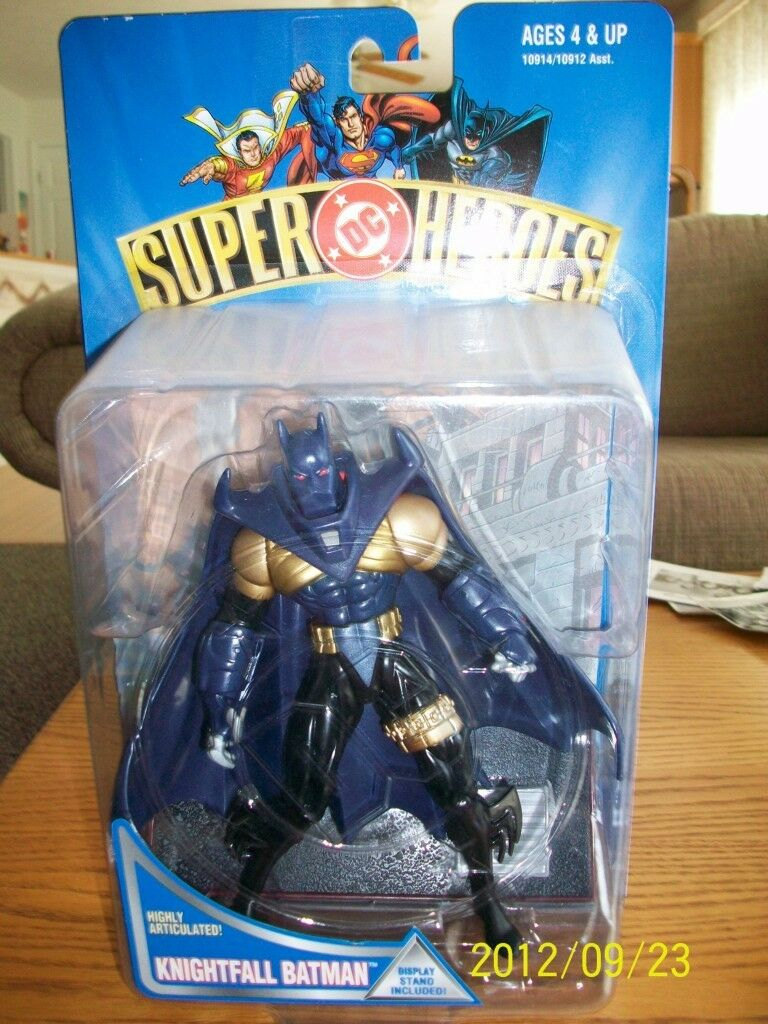 Hasbro DC Super Heroes complete set