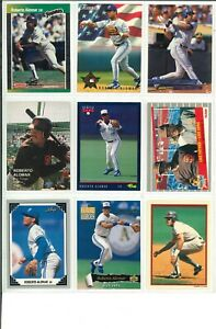 Lot-3-of-45-Roberto-Alomar-Cards-w-Rookies-RC-amp-Inserts-MLB-San-Diego-Padres