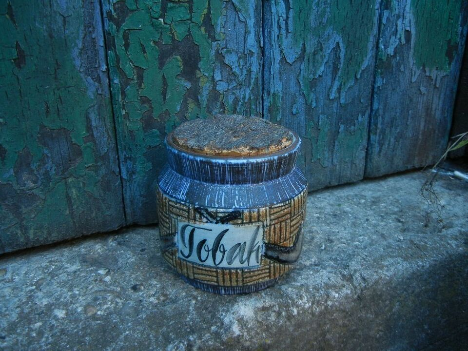 Keramik, RETRO - tobakskrukke