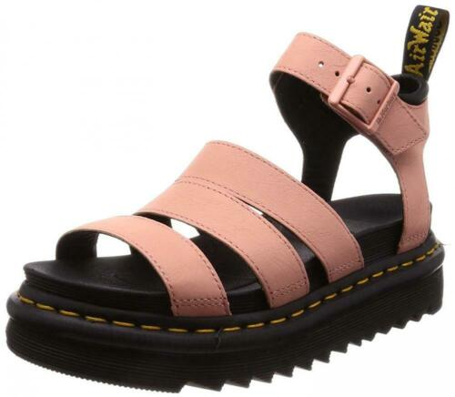 Dr Martens Womens Blaire Patent Leather Fisherman Sandal Comfort Walking Summer