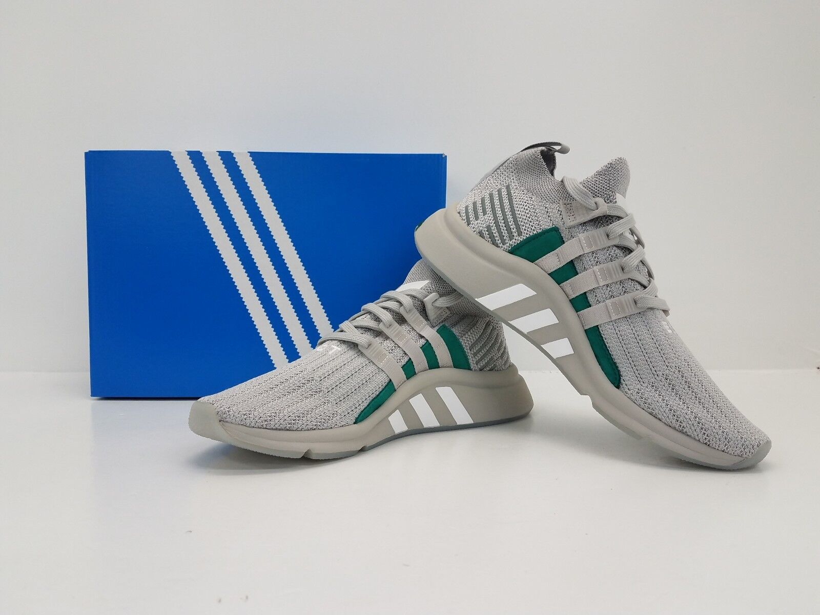 Adidas Originals EQT Support Mid ADV PK Grey/Silver B37372 - BRAND NEW IN BOX!!