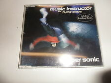 Cd   Music Instructor Feat.  Flying Steps  ‎– Super Sonic