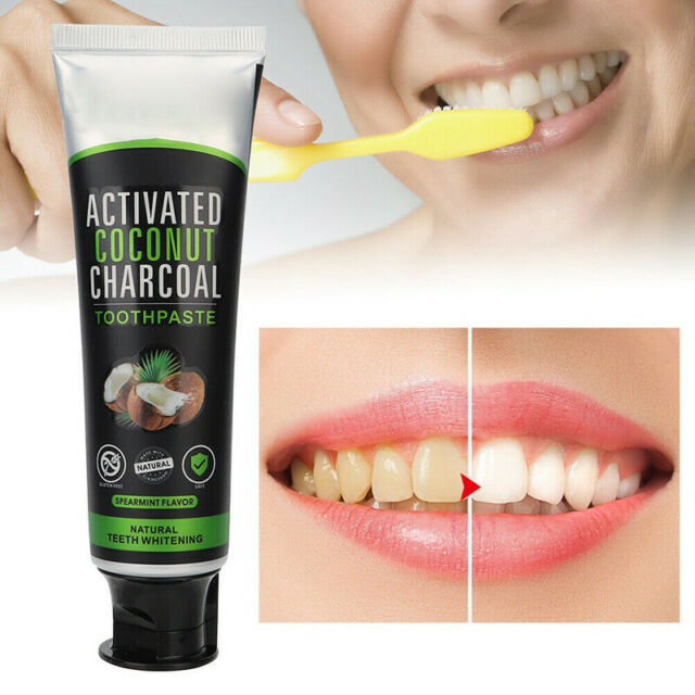 Coconut Activated Charcoal Natural Teeth Whitening Powder Organic