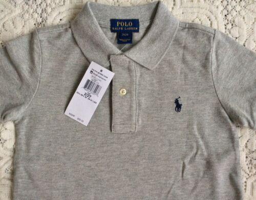 14-16 NUOVO POLO RALPH LAUREN-Camicia L anni-grigio