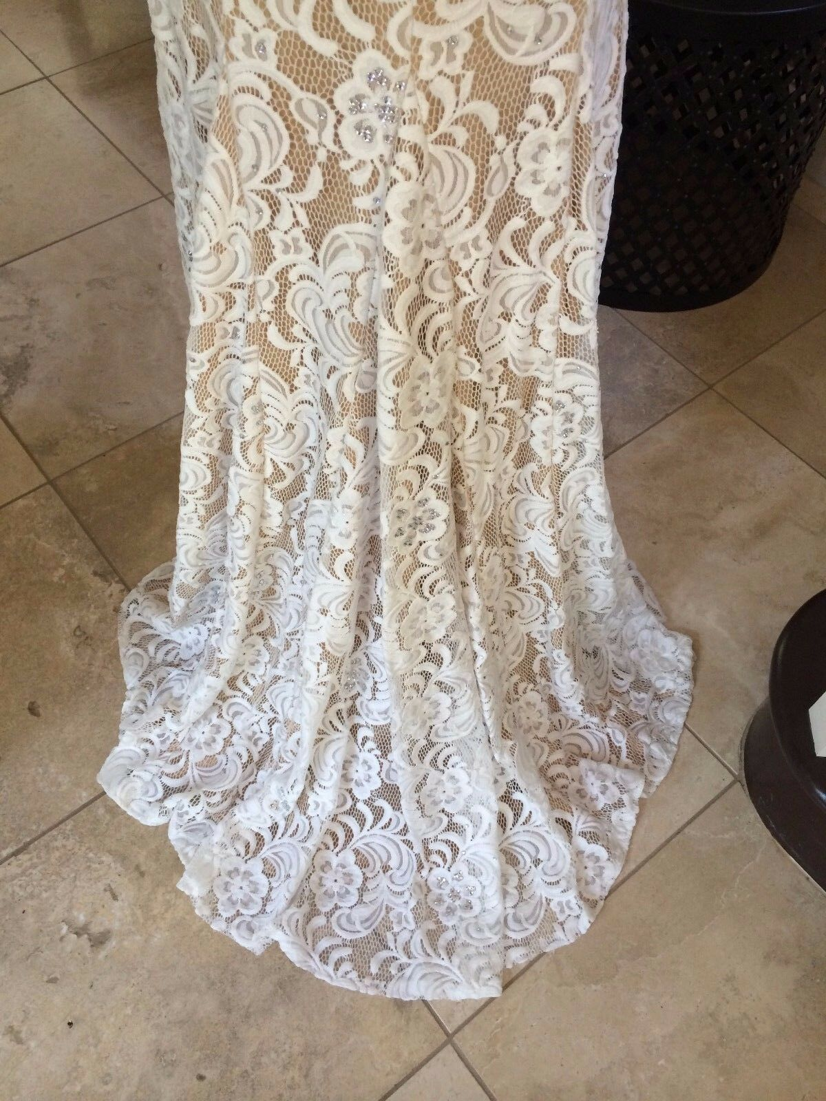 750 NWT IVORY LACE JOVANI JOVANI JOVANI PROM PAGEANT FORMAL WEDDING DRESS GOWN SIZE 2 d2954c