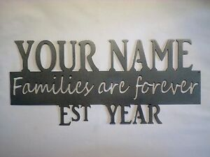Families Are Forever Personalized Name Year And Finish
