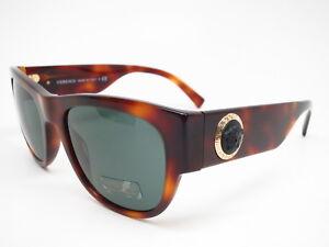 b1c571621b New Authentic Versace VE 4359 5217 71 Havana with Green Sunglasses ...