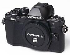 Olympus OM-D E-M10 EM10 Mark II schwarz Gehäuse Body Fachhändler Einzelstück
