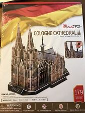 NEW Cubic Fun 3D Puzzle Cologne Cathedral. 179 Pieces.