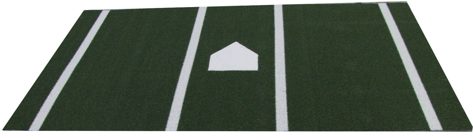 5 ft x 12 Ft SyntheticTurf Baseball Softball Batting Practice Hitting Cage Mat