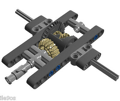 Lego Differential Assembly technic,car,truck,gear,crawler,universal,joint