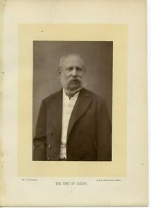 Vintage-Cabinet-Card-by-W-amp-D-Downey-King-Albert-of-Saxony