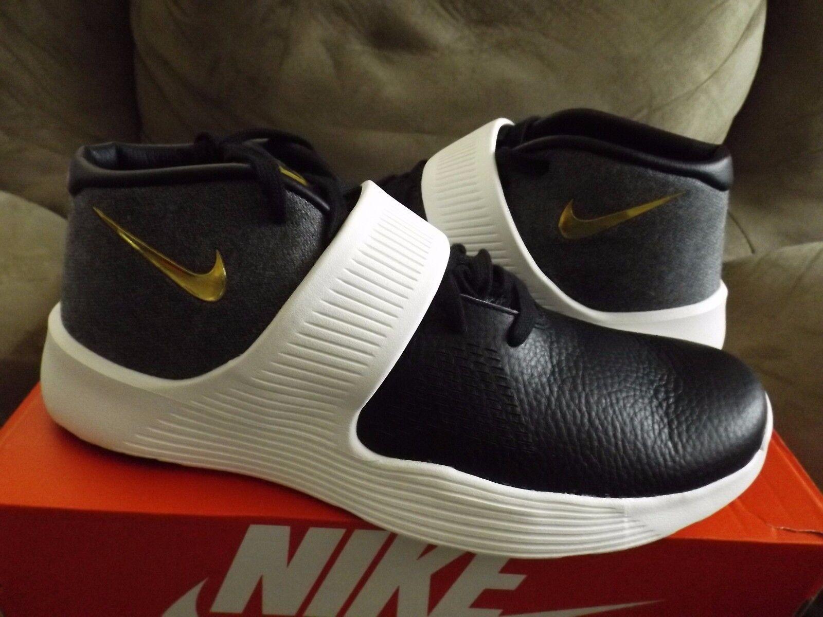 Nike zoom hawk volo uomo numero 9 bianco bianco 9 rosso scarpe da basket 805272-100 6bde94