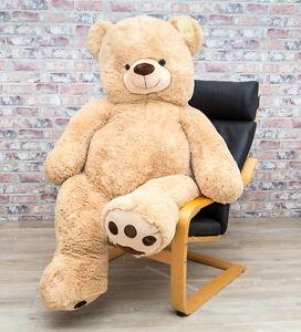 riesen teddyb r mega xxl 135 cm kuschelb r schmuseb r. Black Bedroom Furniture Sets. Home Design Ideas