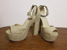 cc3a172324e Steve Madden Nylee Platform Ankle Strap Sandals - Natural 11 US ...