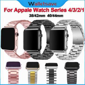 For Iwatch Apple Watch Series 5 4 3 2 Stainless Steel Wrist Band Strap Bracelet Ebay