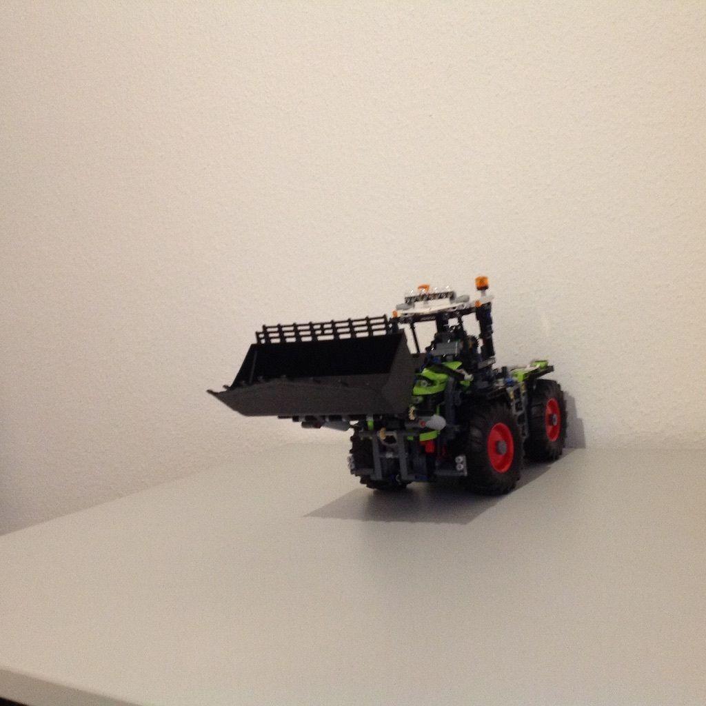 Lego-Technic/Technik Frontlader für Traktor Claas Xerion SET 42054