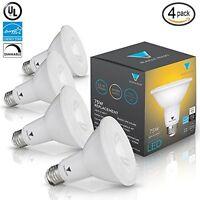Triangle Bulbs (Pack Of 4) 12-Watt (75-Watt) PAR30 LED Flood Light Bulb, UL