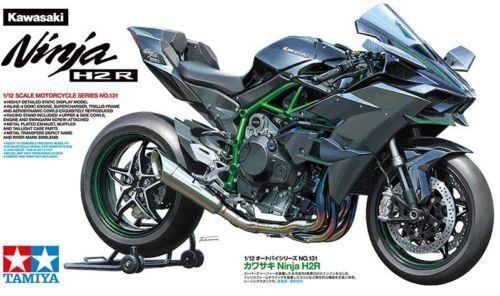 Tamiya Kawasaki Ninja H2 R H2R 1 12 Kit 14131 motorcycle moto motorbike