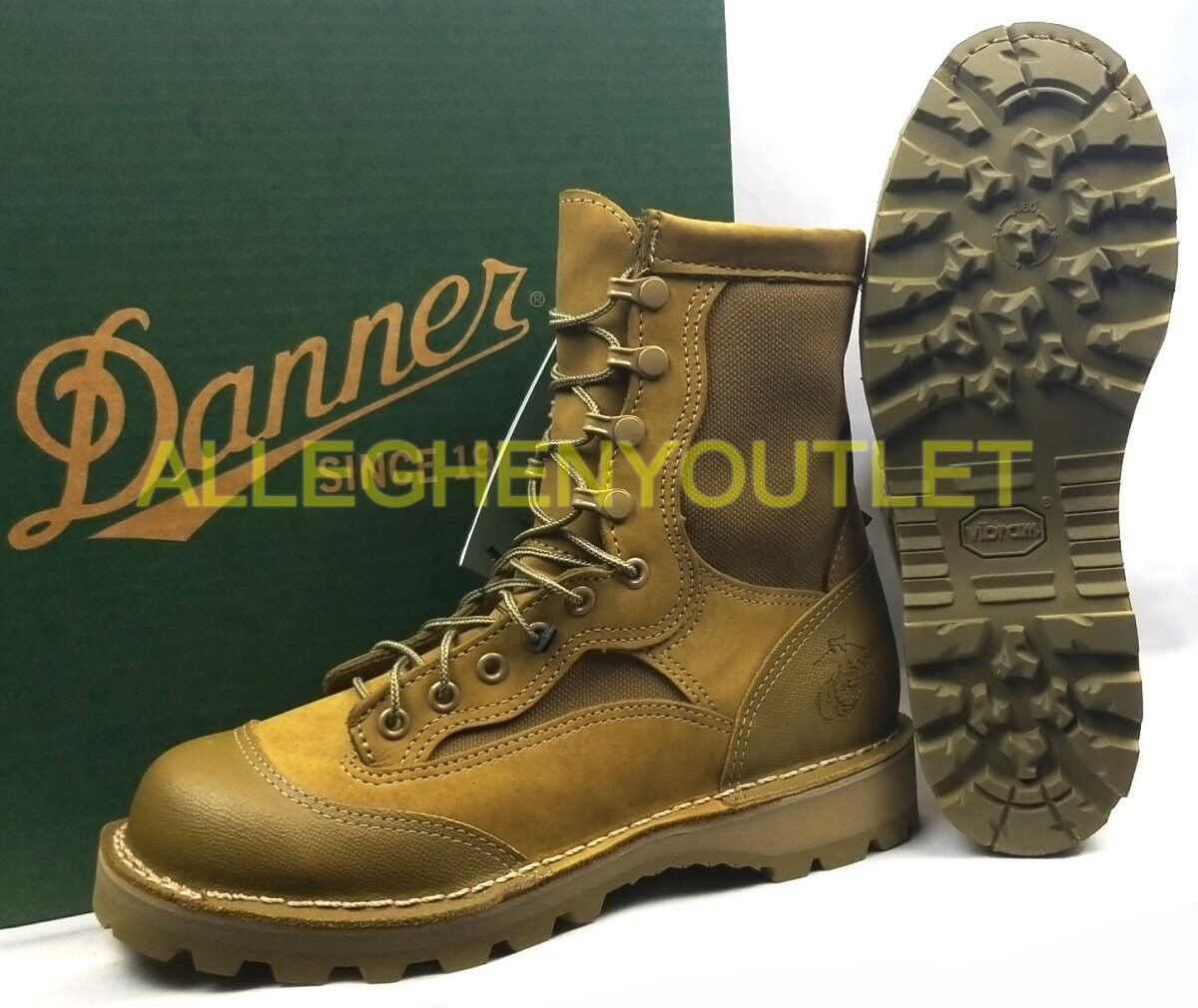 Danner Danner Danner USMC RAT 8  Military Leather Boots Mojave GTX GoreTex 15678 Sz 6.5 R NEW 5a83f4