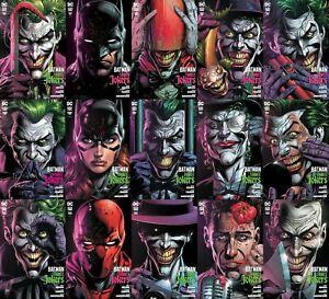 BATMAN-THREE-JOKERS-1-2-amp-3-DC-2020-LOT-OF-15-PREMIUM-amp-REG-COVERS