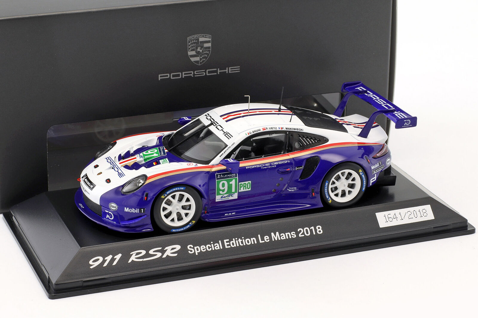 Porsche 911 (991) Rsr º Lmgte pro 24h Lemans 2018 Porsche Gt Team 1 43 Spa