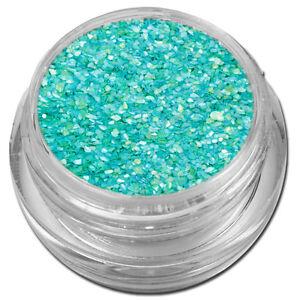 Muschelsplitter Crushed Shells Glitter Glitzer Hellblau Nail Art #00211-13