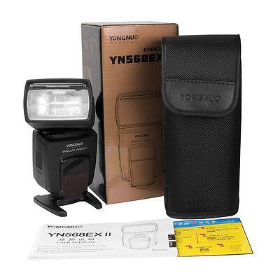 YONGNUO YN-568EX II TTL Flash Speedlite Master with High Speed Sync for Canon