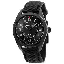 Hamilton Khaki Field Black Dial Black Stainless Steel Men's Watch H68401735