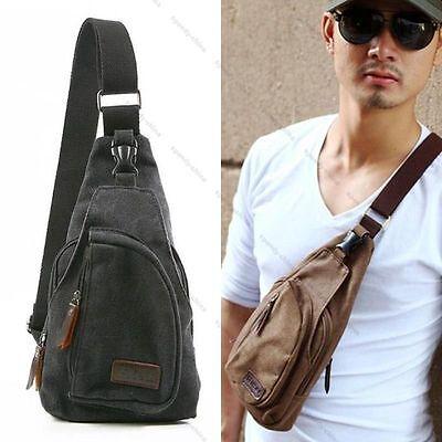 Hot Men's Military Canvas Satchel Shoulder Bag Messenger Bag Travel Backpack  FO