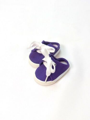 """Doll Clothes 18/"""" Sneakers Shoes Slip On Purple Fits American Girl Dolls"""