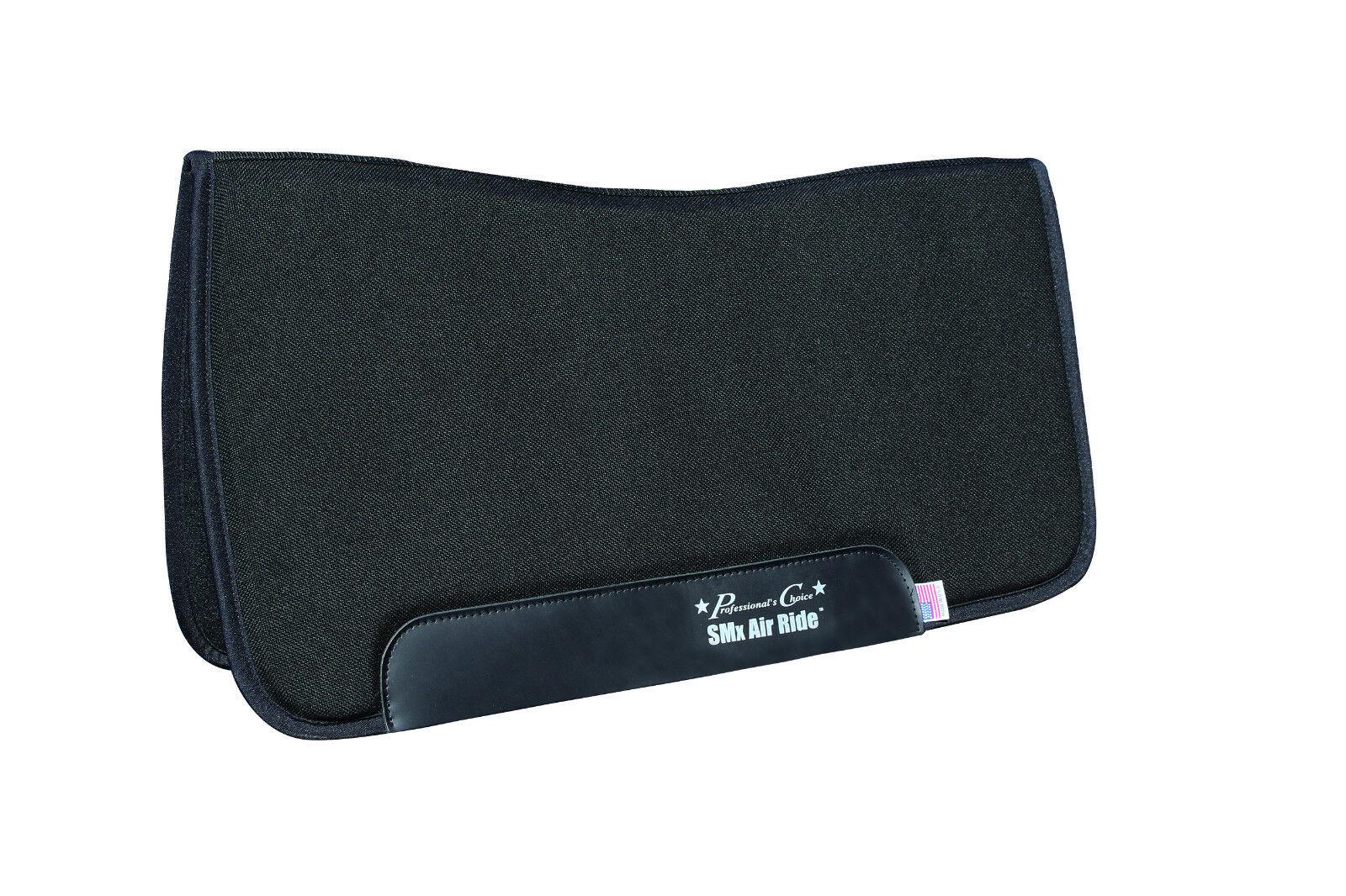 Professionals Choice SMx Air Ride Negro de alrojoedor de almohadilla para silla de 30  X 32  Fieltro