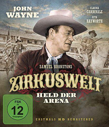 Zirkuswelt * John Wayne * Claudia Cardinale * Rita Hayworth * Blu-ray