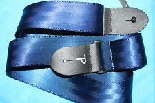 Perri's Seatbelt Nylon Guitar Strap, Blue, PLS-1695