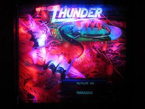 Opération Thunder Complet Éclairage Led Kit Personnalisé Super Brillant Flipper